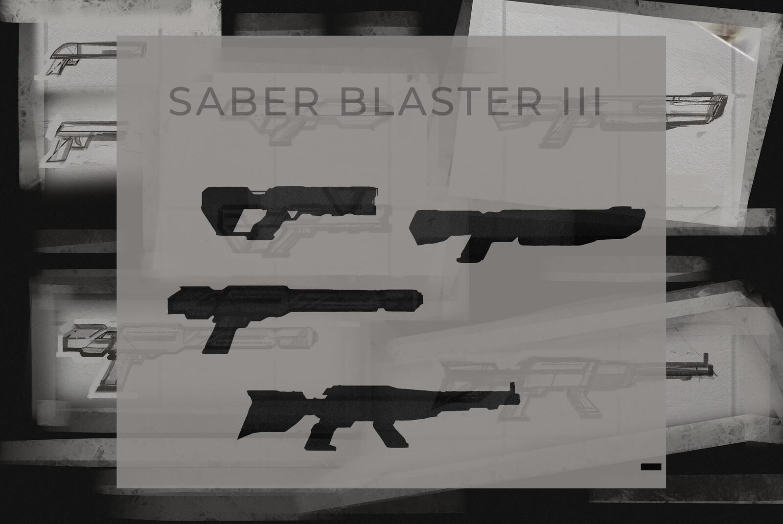SABER Blaster III