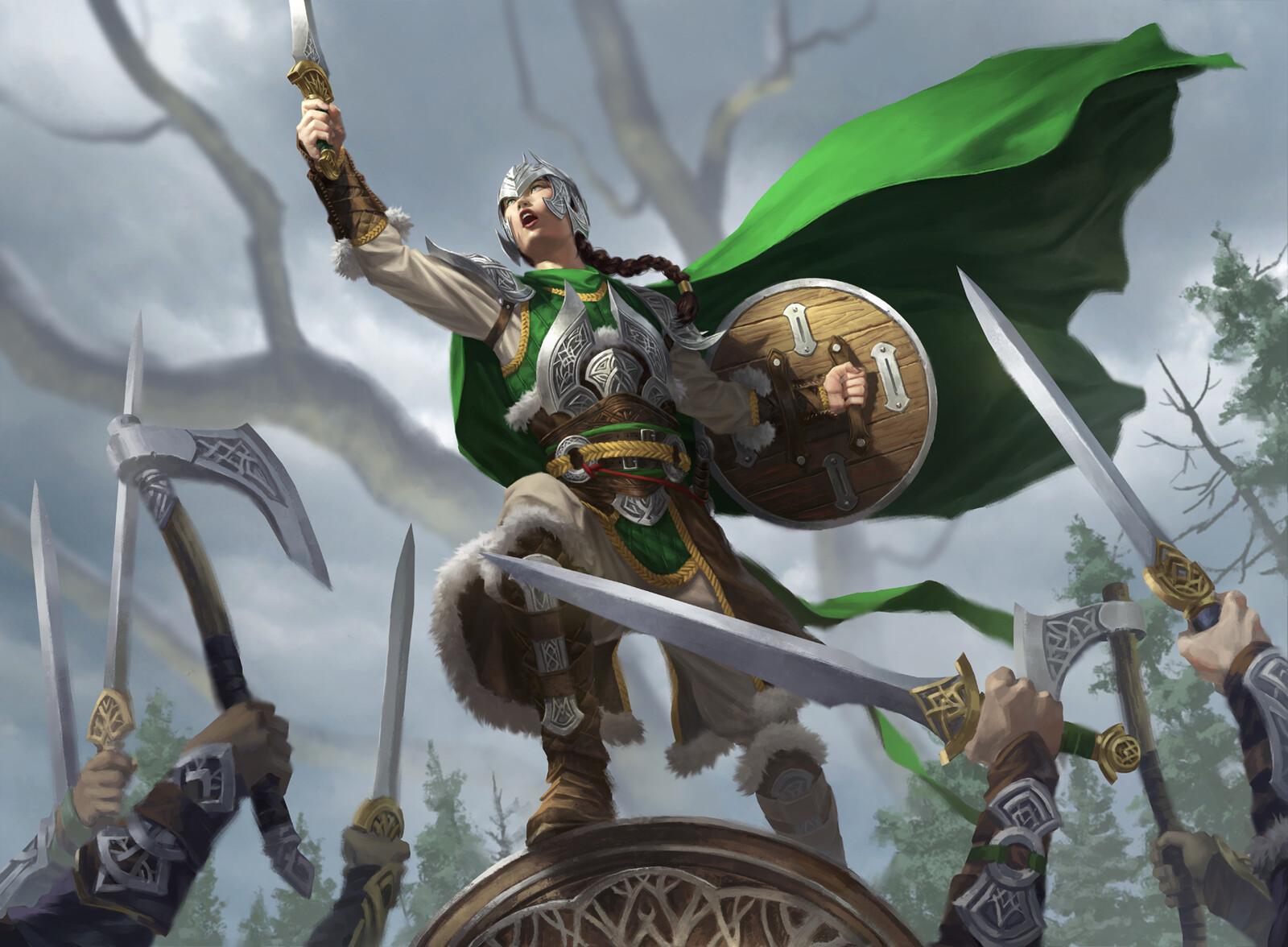 Maja , Bretagard Protector