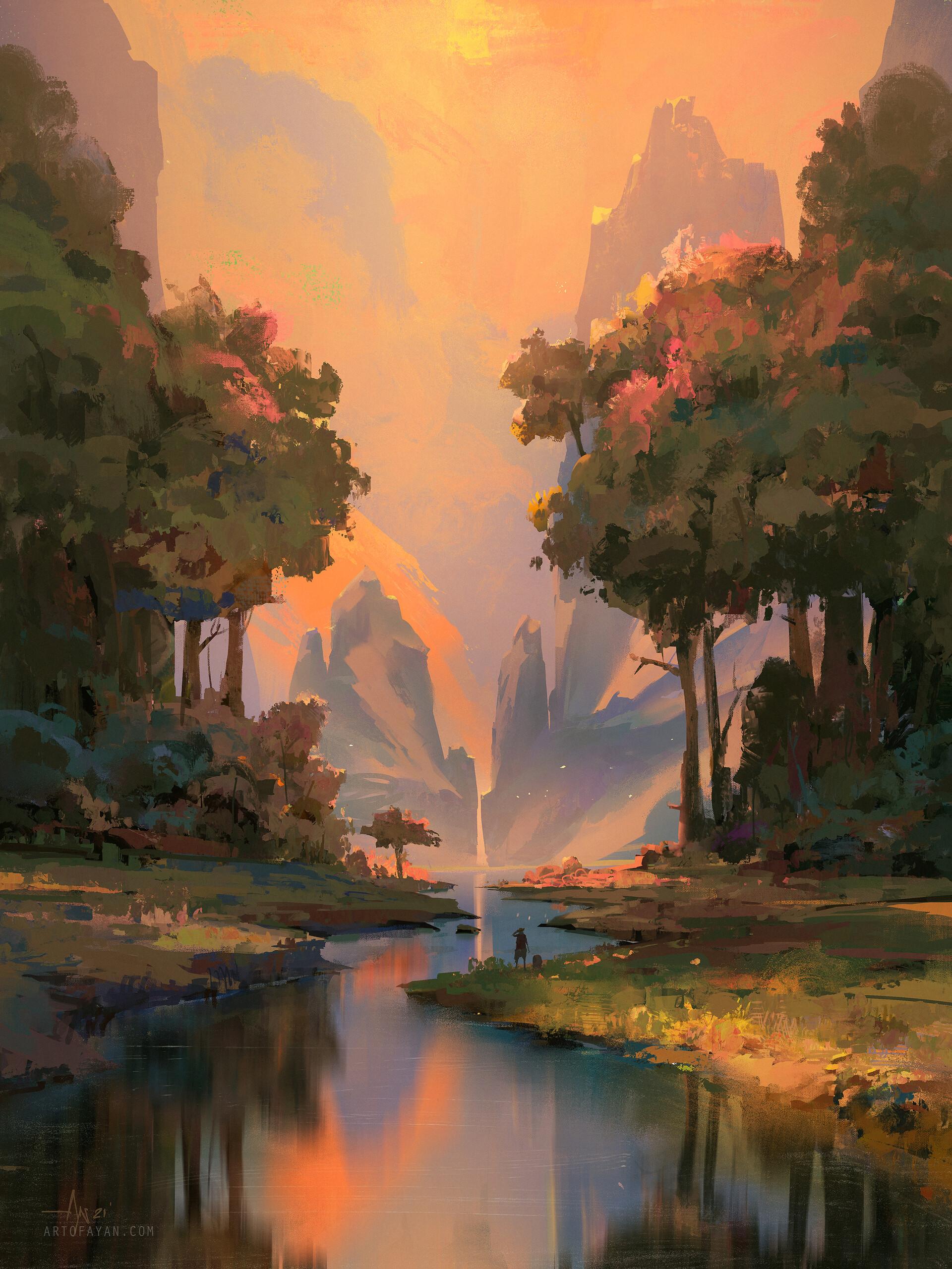 Daybreak Valley