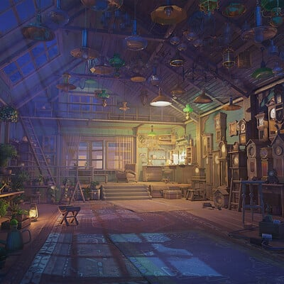 Arseniy chebynkin watchmaker house night