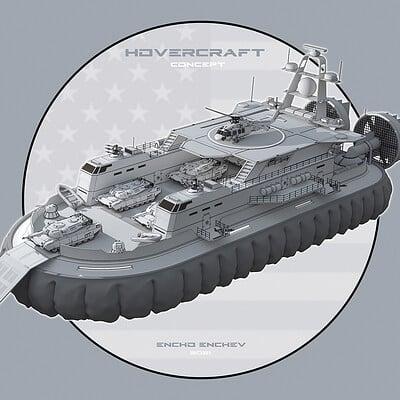 Encho enchev hovercraft concept 1