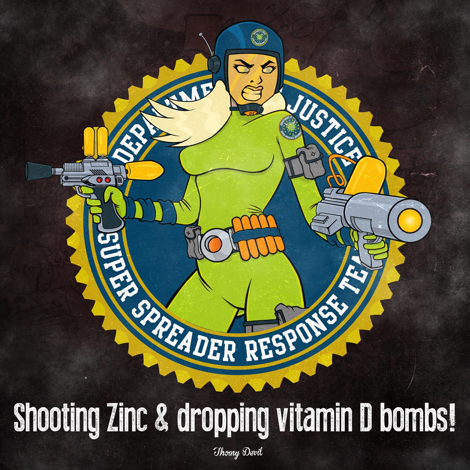 Shooting Zinc & Dropping D bombs