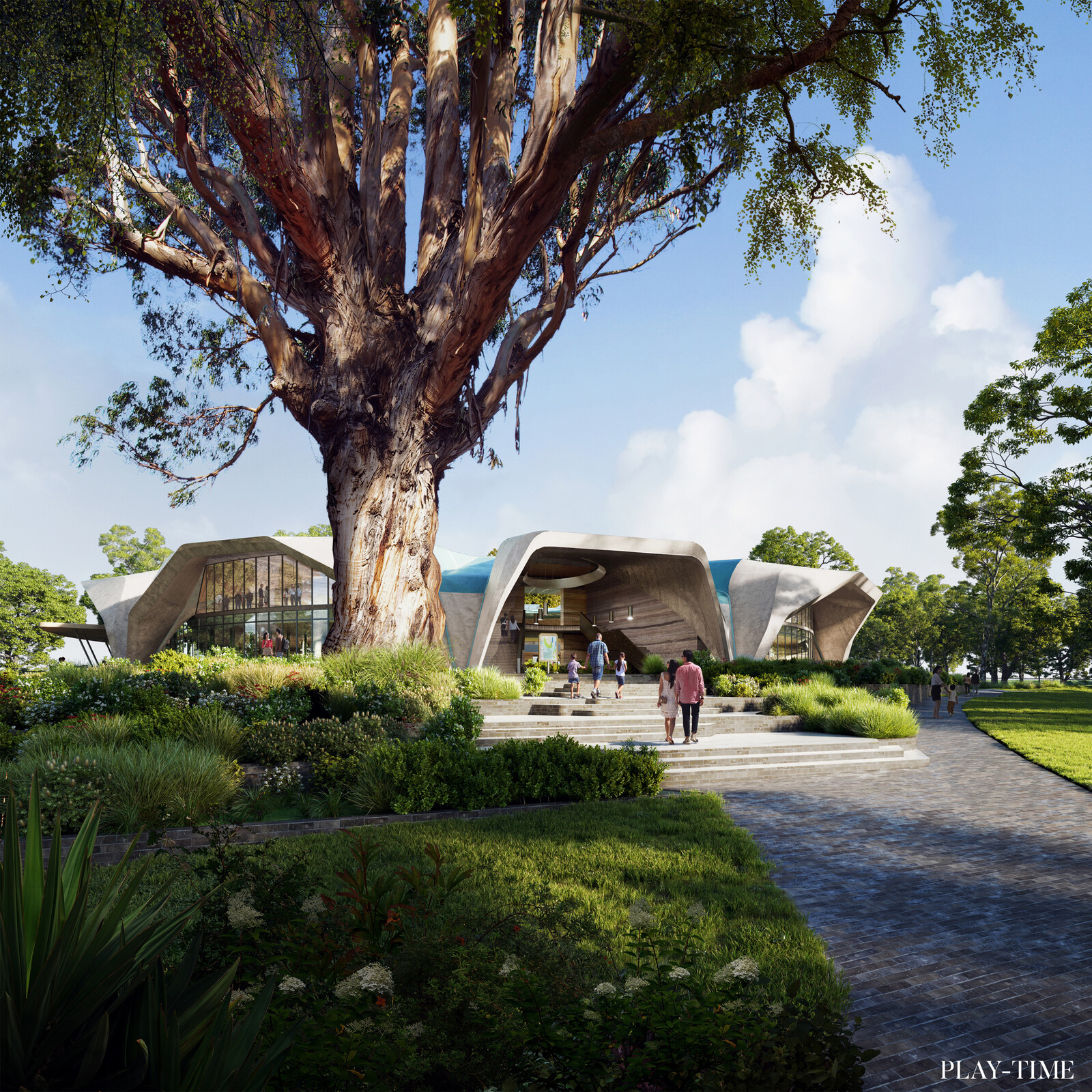 Kurnell Visitor Center in Kamay Botany Bay National Park designed by Crone Architects. Images by Play-time.