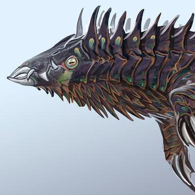 Alex ries alex shark lithosaur03