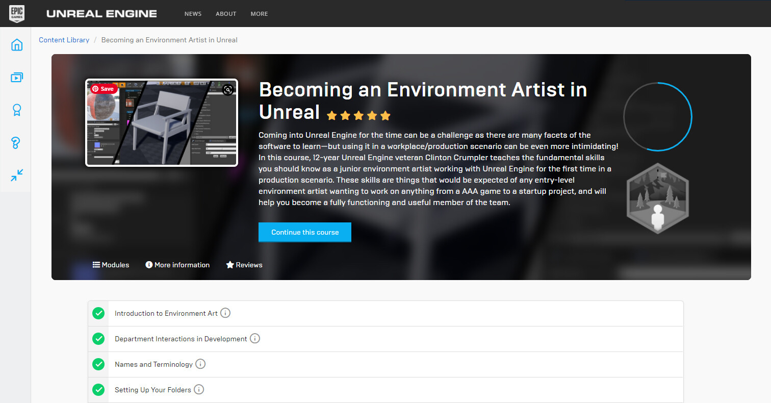 https://www.unrealengine.com/en-US/onlinelearning-courses/becoming-an-environment-artist-in-unreal