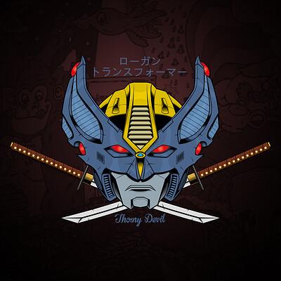 Thorny devil artstation transformers logan01