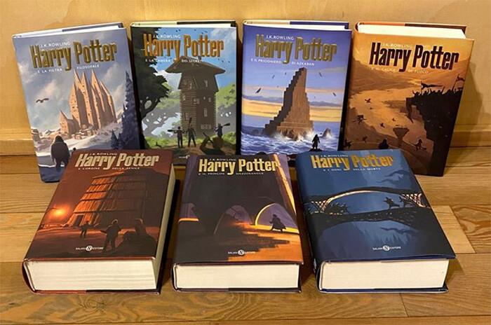 Artstation Harry Potter Italian Edition Book Covers Andreas Rocha