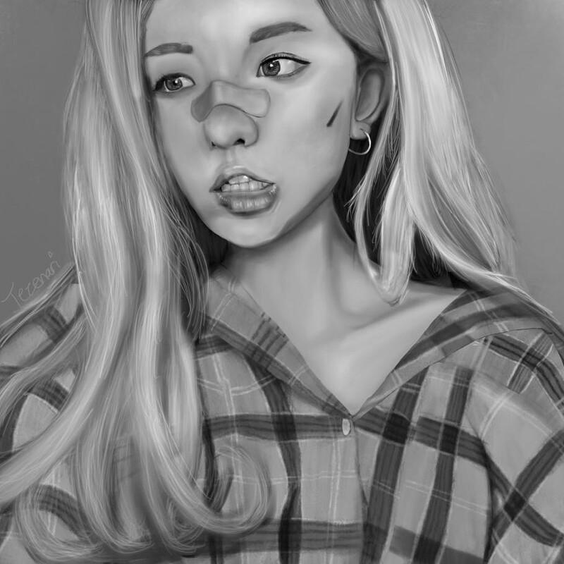 Portrait Study - 01