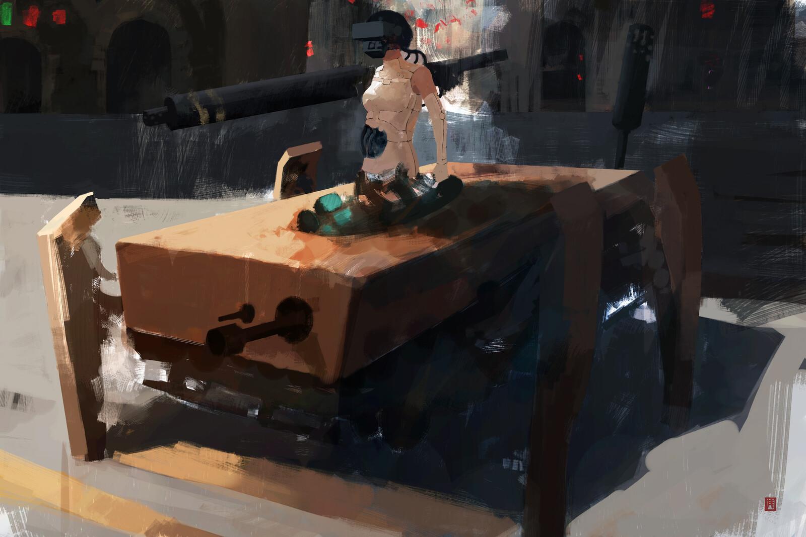Mid-Heavy Tactical City Unit//01