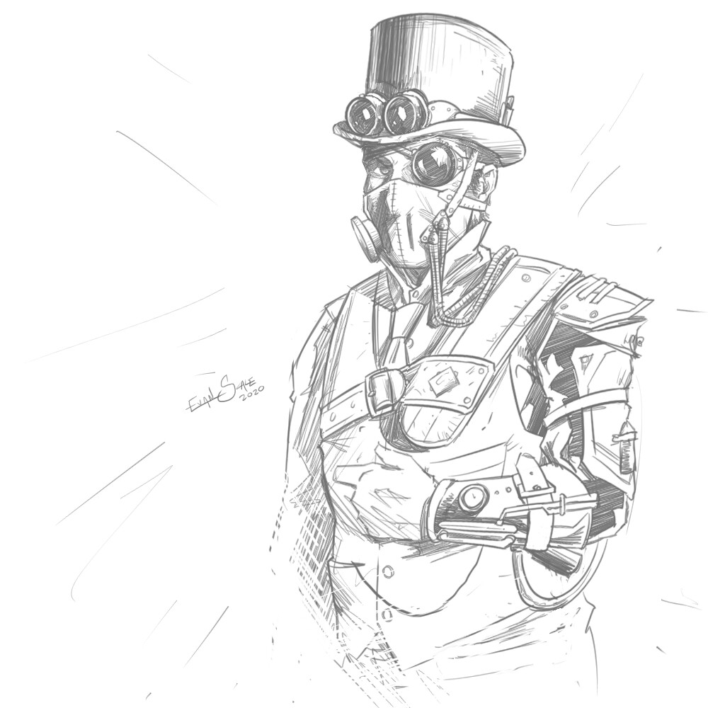 Fantasy Gear and Equipment #2 - Steampunk
