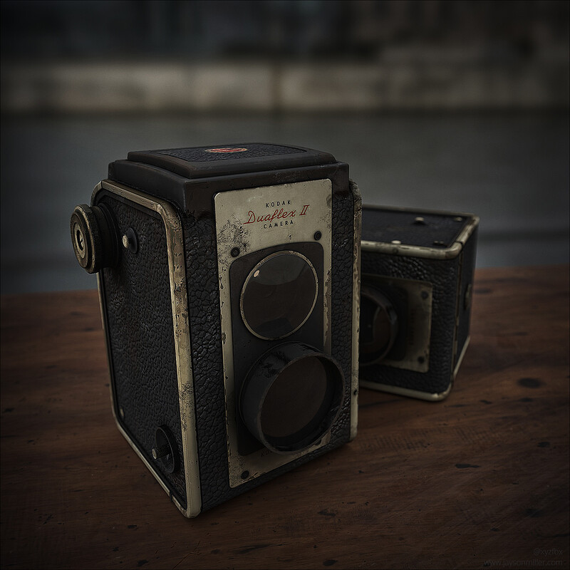 Little Vintagey Camera Study