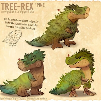 Piper thibodeau dp2988 sketches treerex pine standardres