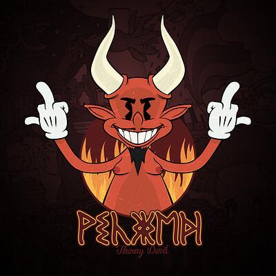 Thorny devil devil winning print