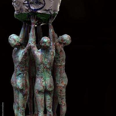 Surajit sen united digital sculpture surajitsen jan2021al