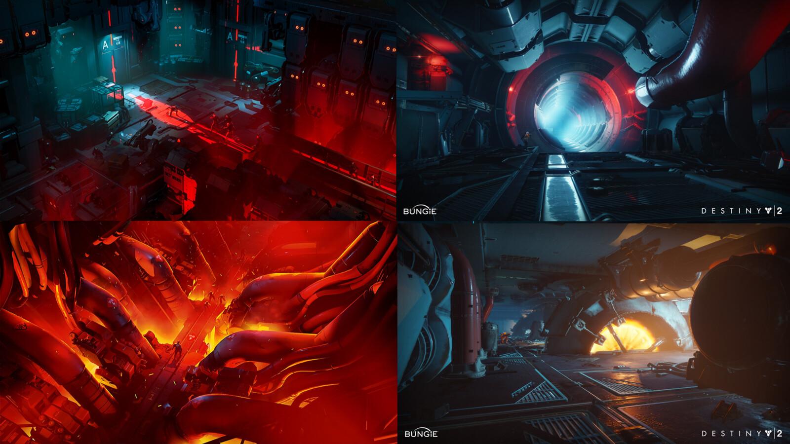 Original Inspirations - Ruiner & Destiny 2 Leviathan Underbelly