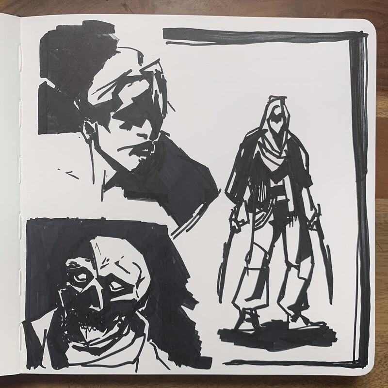 Sketches: Dec. 2020 - Jan. 2021