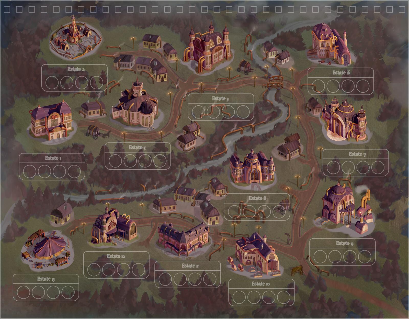 Steampunk Buildings