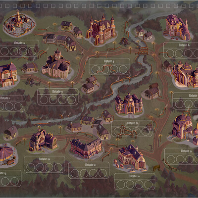 Anh le 1900 steampunk map