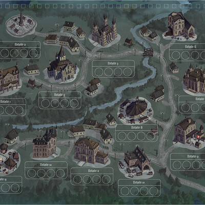 Anh le 1900 gothic map
