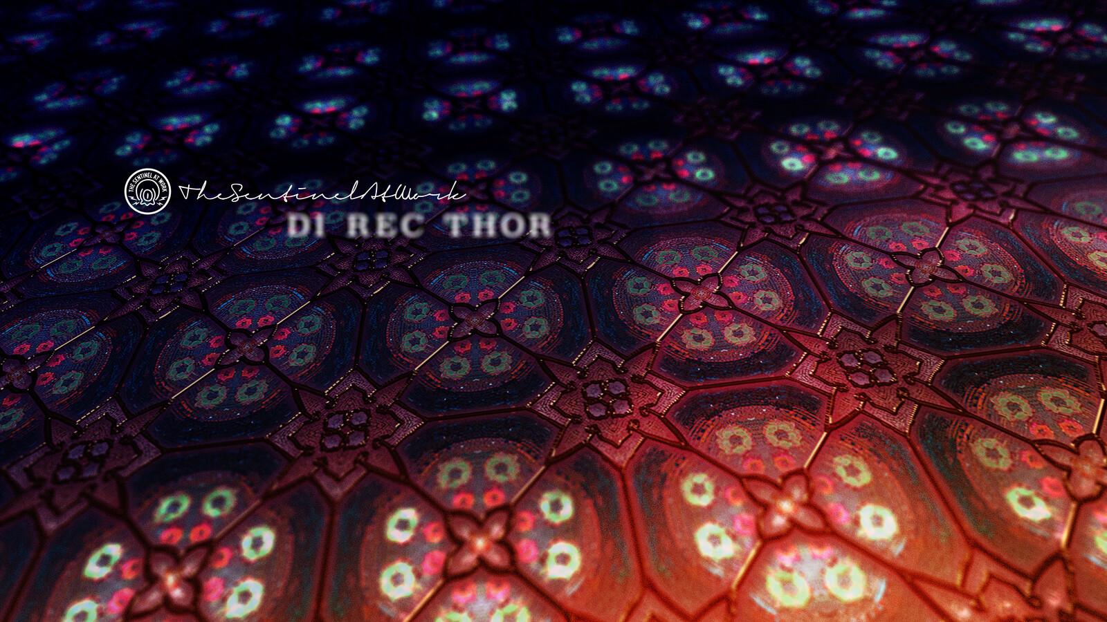 DI REC THOR, Opening credits design.