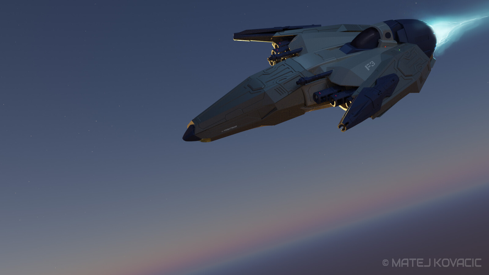 Space Fighter F3