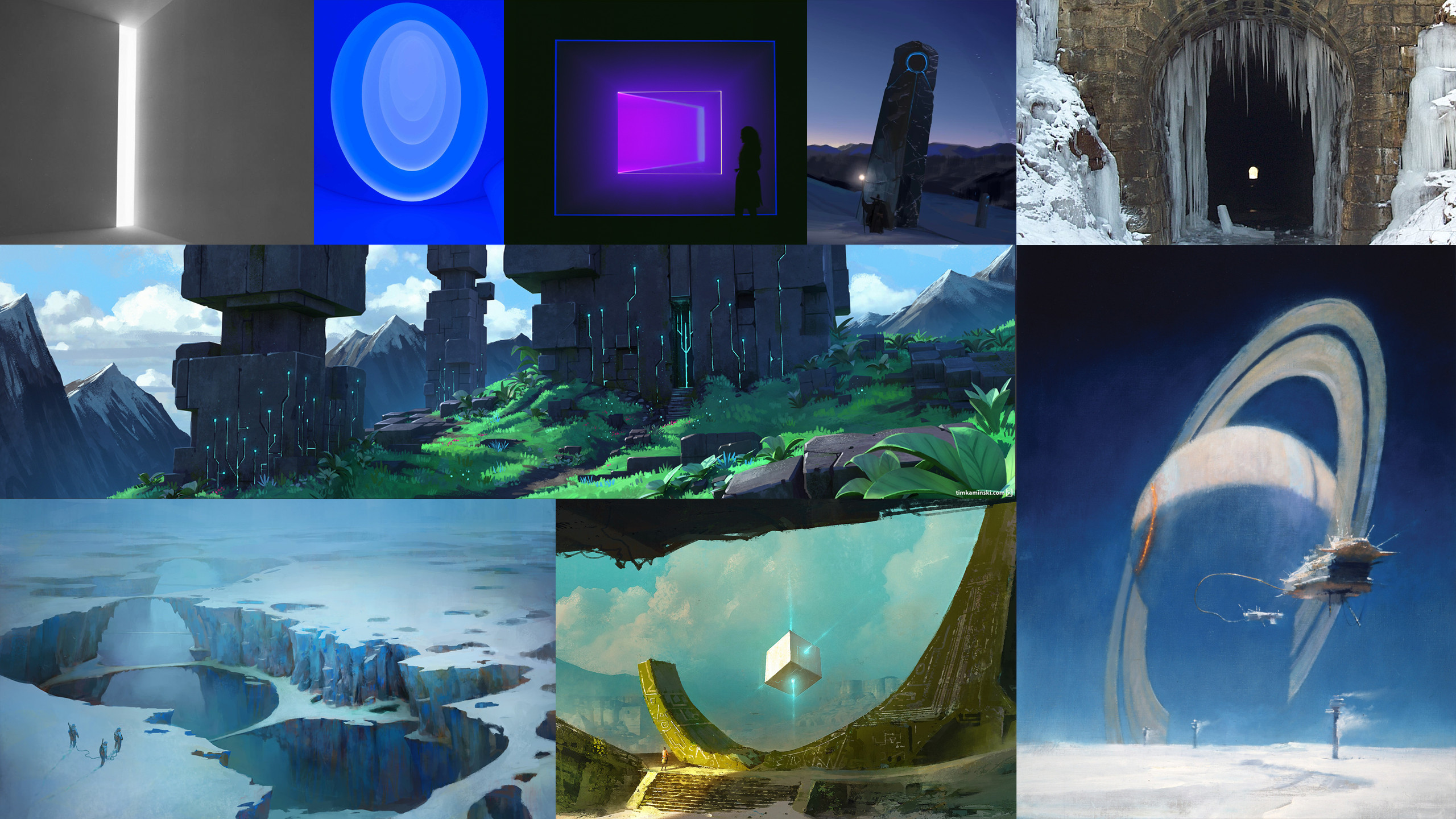 Some of the inspirations for Triad