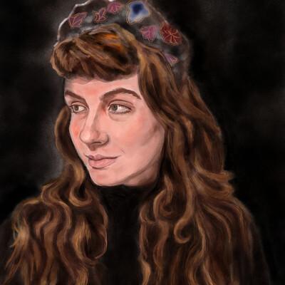 Kate perkins 1 26 21 self portrait v4