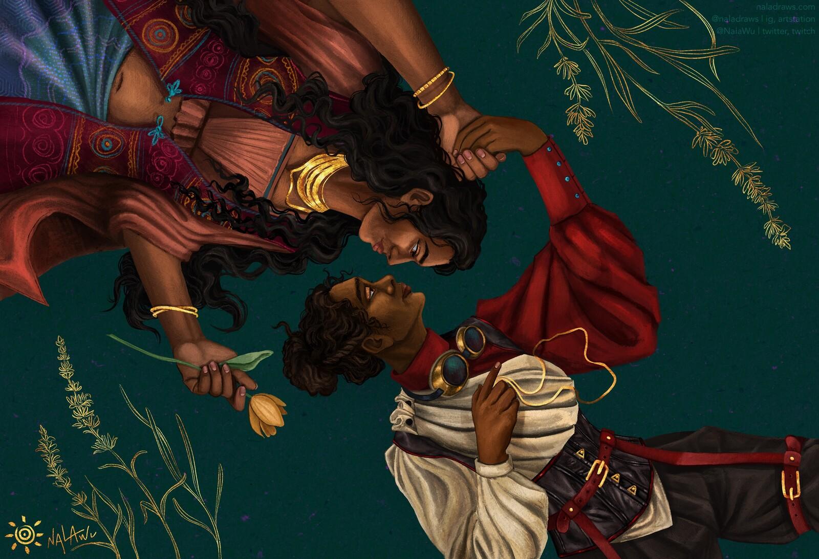 Commission - Ela & Zehra