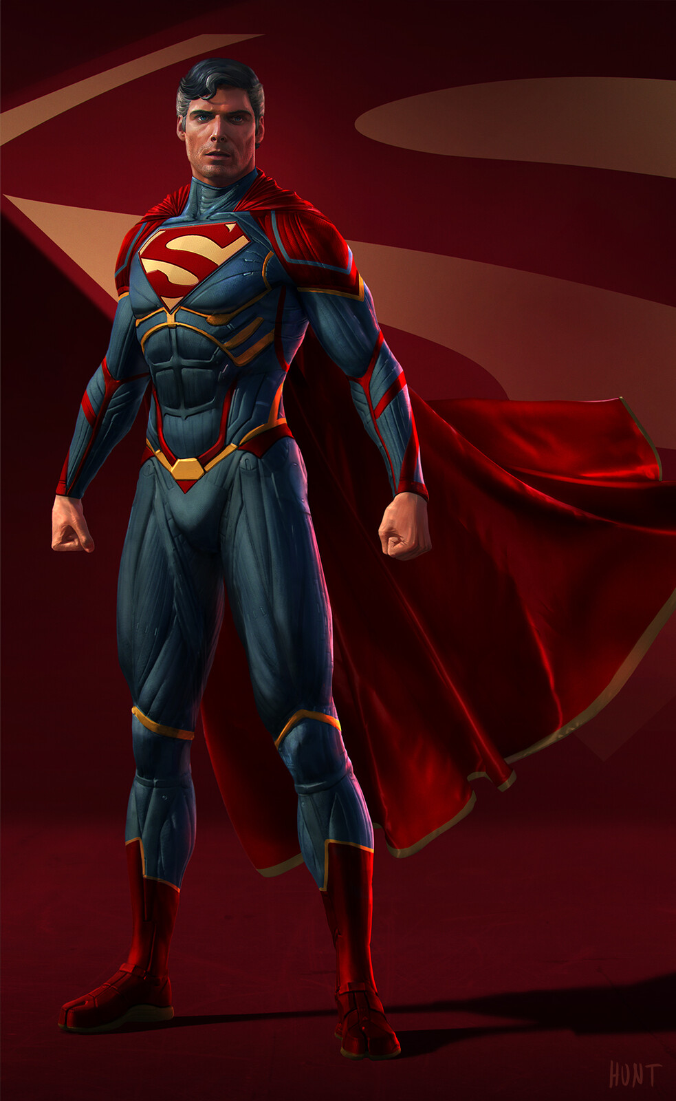 Superman Design w Reeve