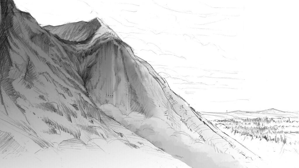 Developed sketch