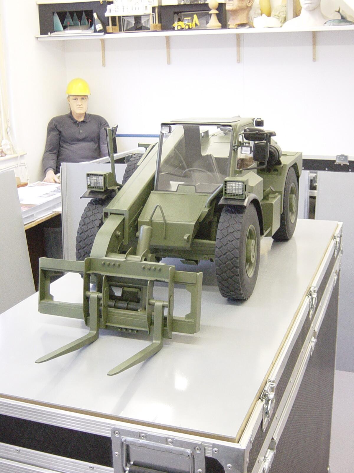 JCB Loadall 1:5 Scale Vehicle