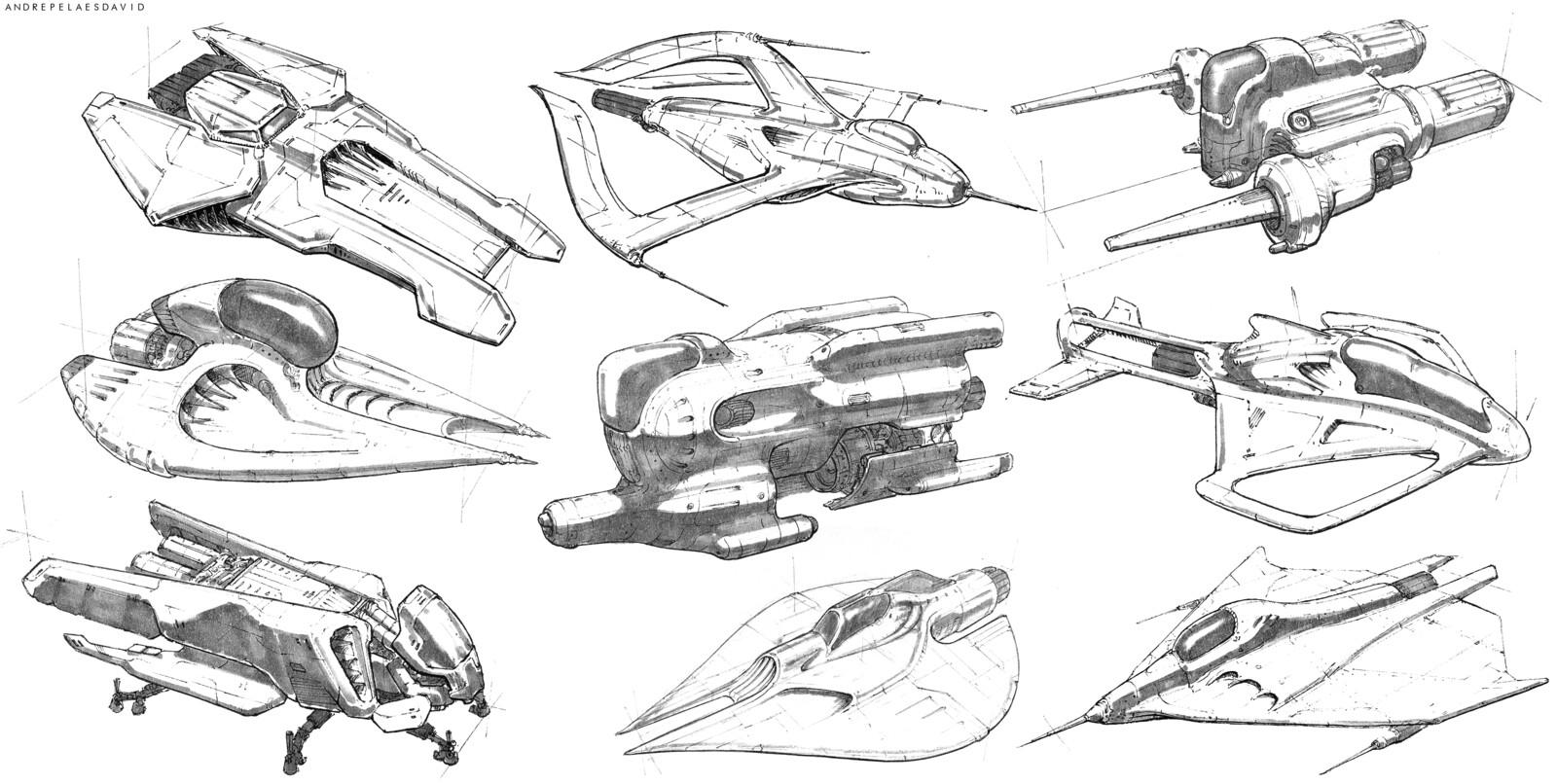 The Spacebook Of Sketchships