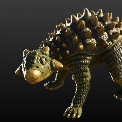 Christine garner posedankylosaurusweb