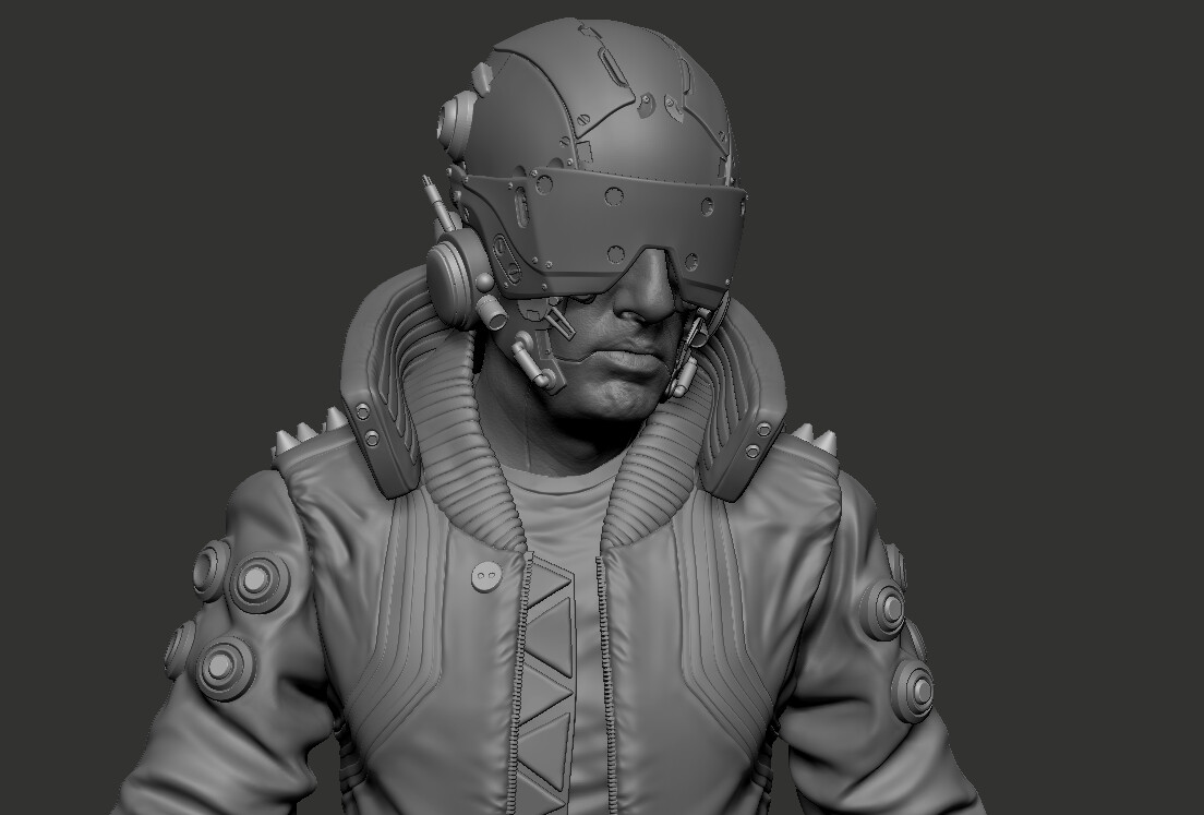ZBrush sketch from the ZBrushLive sessions