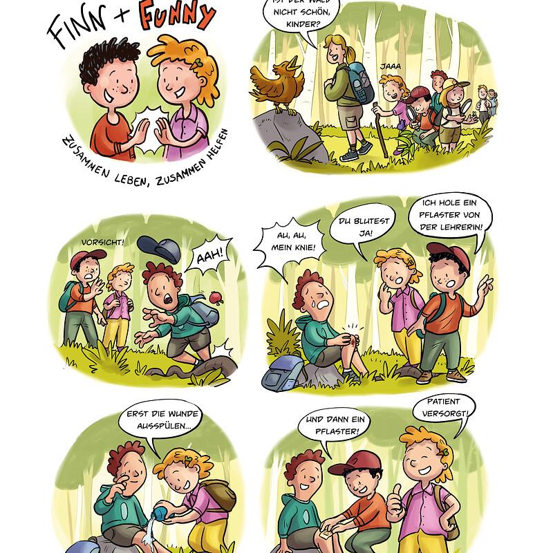 Finn & Funny Comics/Illustrations