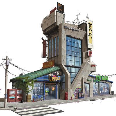 Pengzhen zhang shibuya building