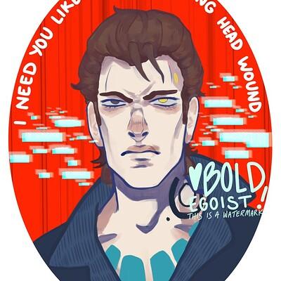 Bold egoist rhysprint 1