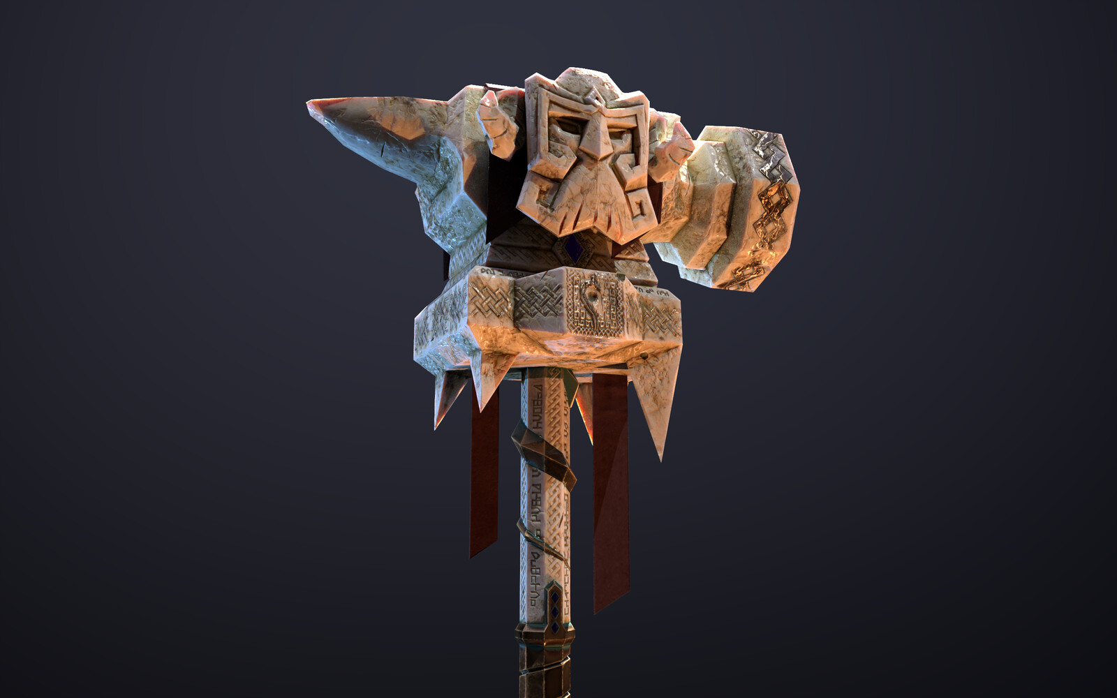 Dwarven Hammer: The Relic of Burkhet