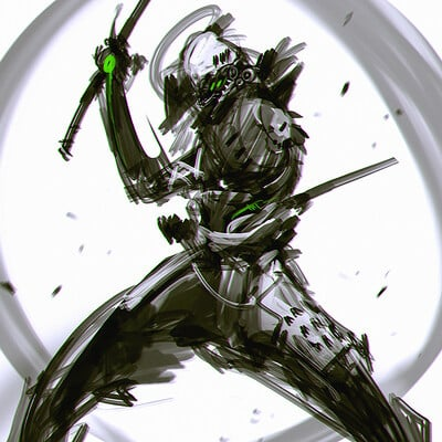 Benedick bana speedpaint oni ninja lores