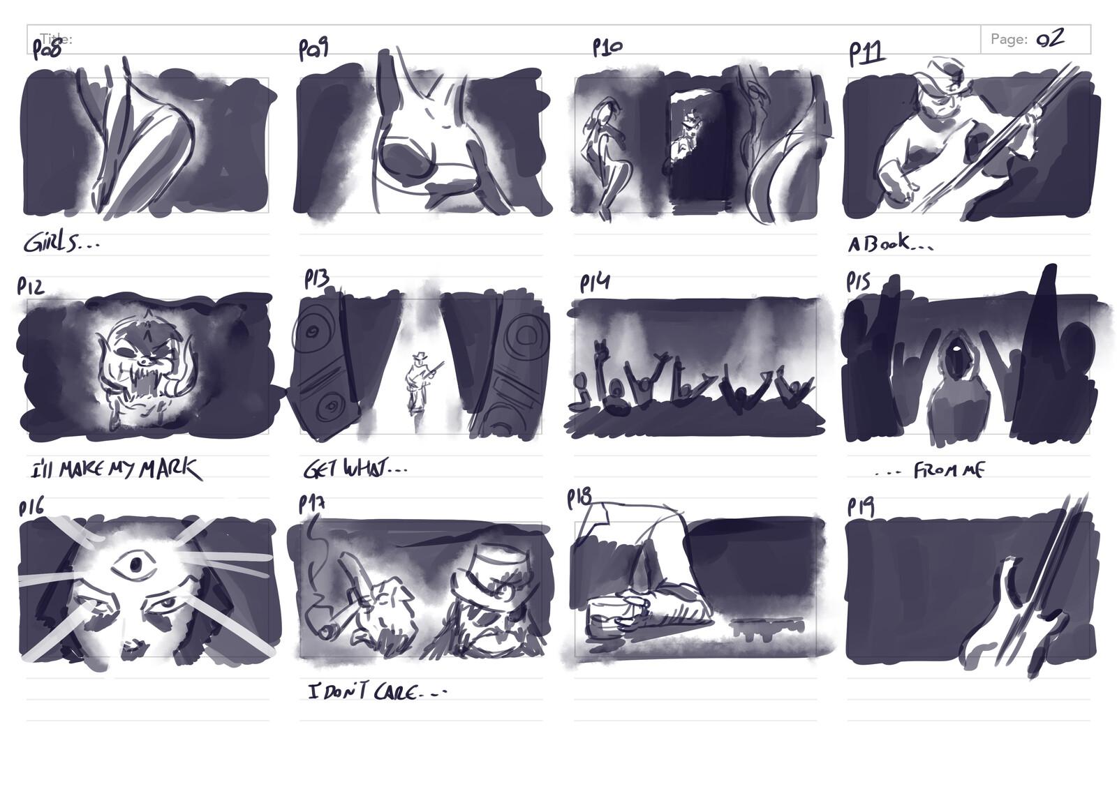 Storyboard 2/6