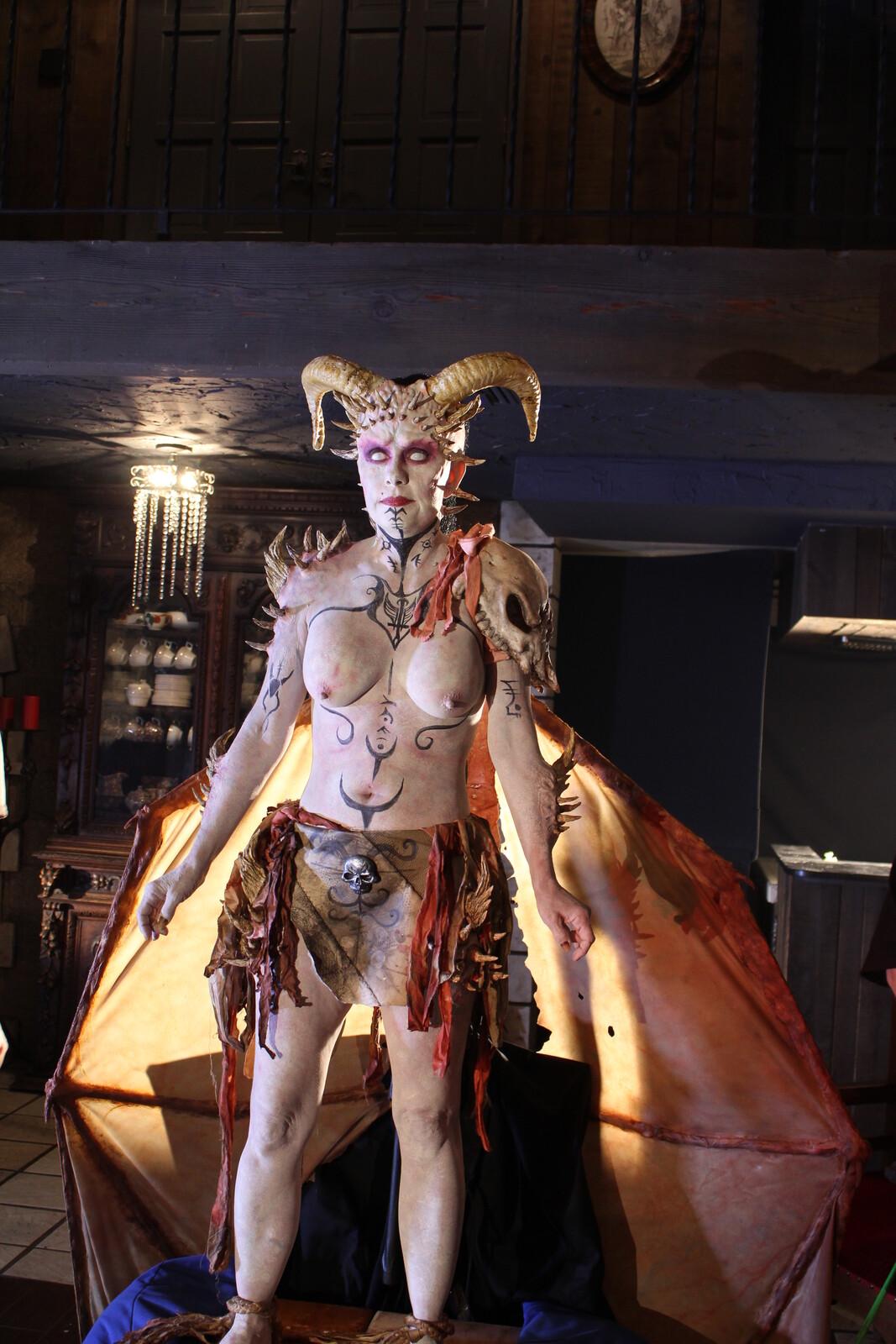 Disciples Movie Demon Makeup