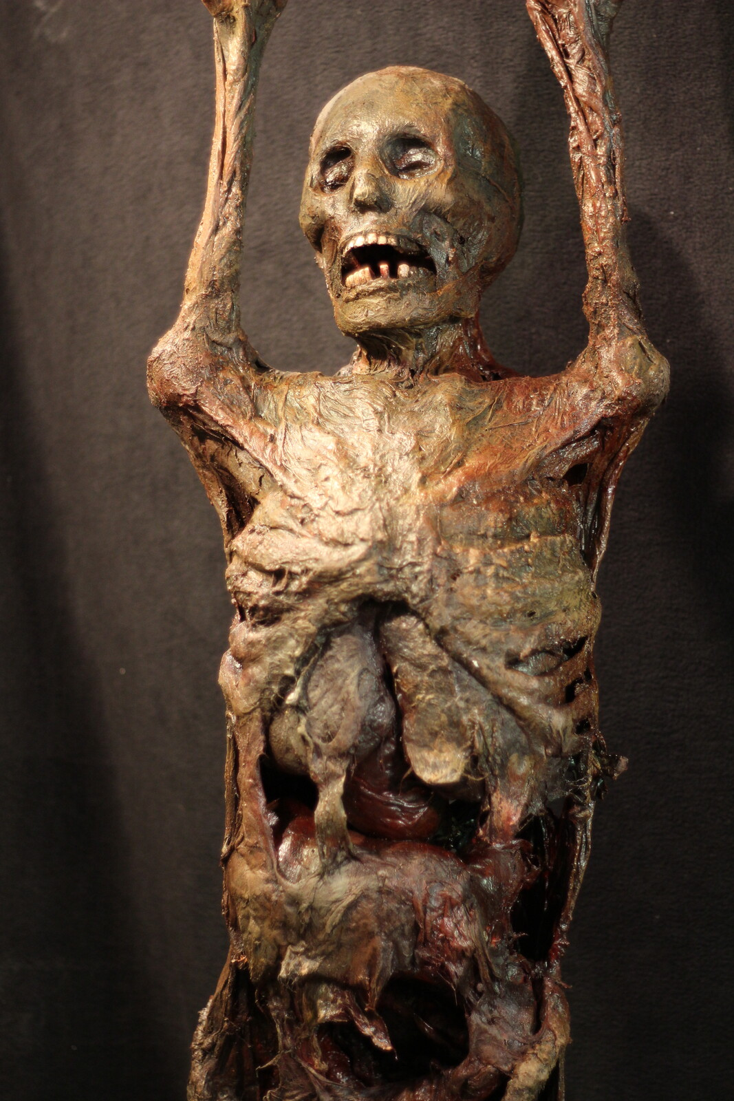 Mortal Kombat Tradeshow Corpse Fabricated Body Prop