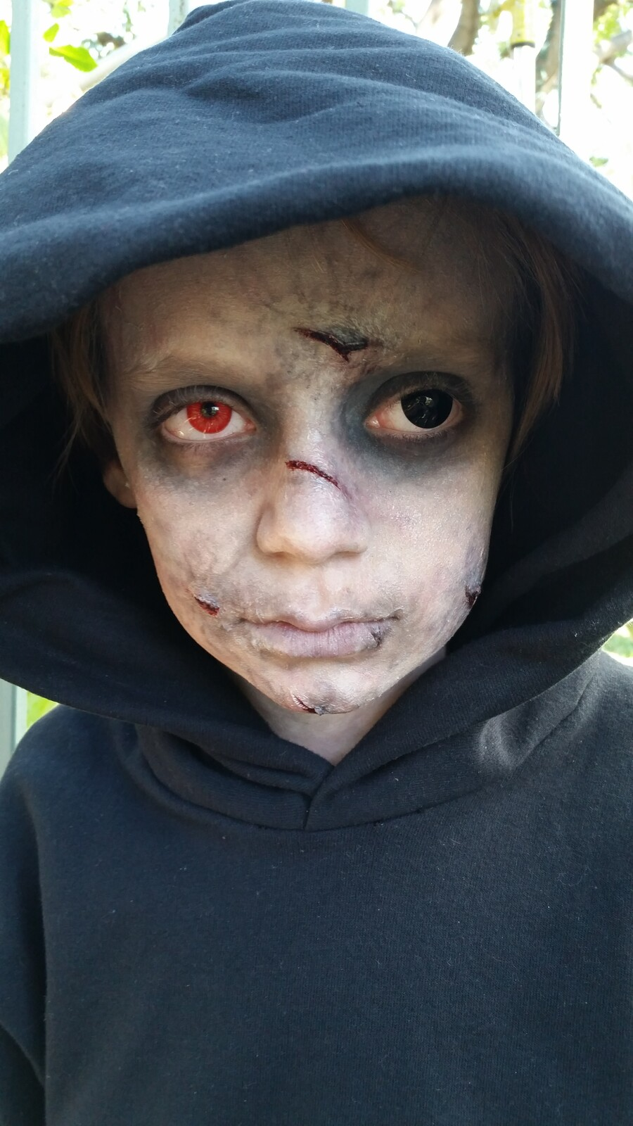 Possessed Child Make-up