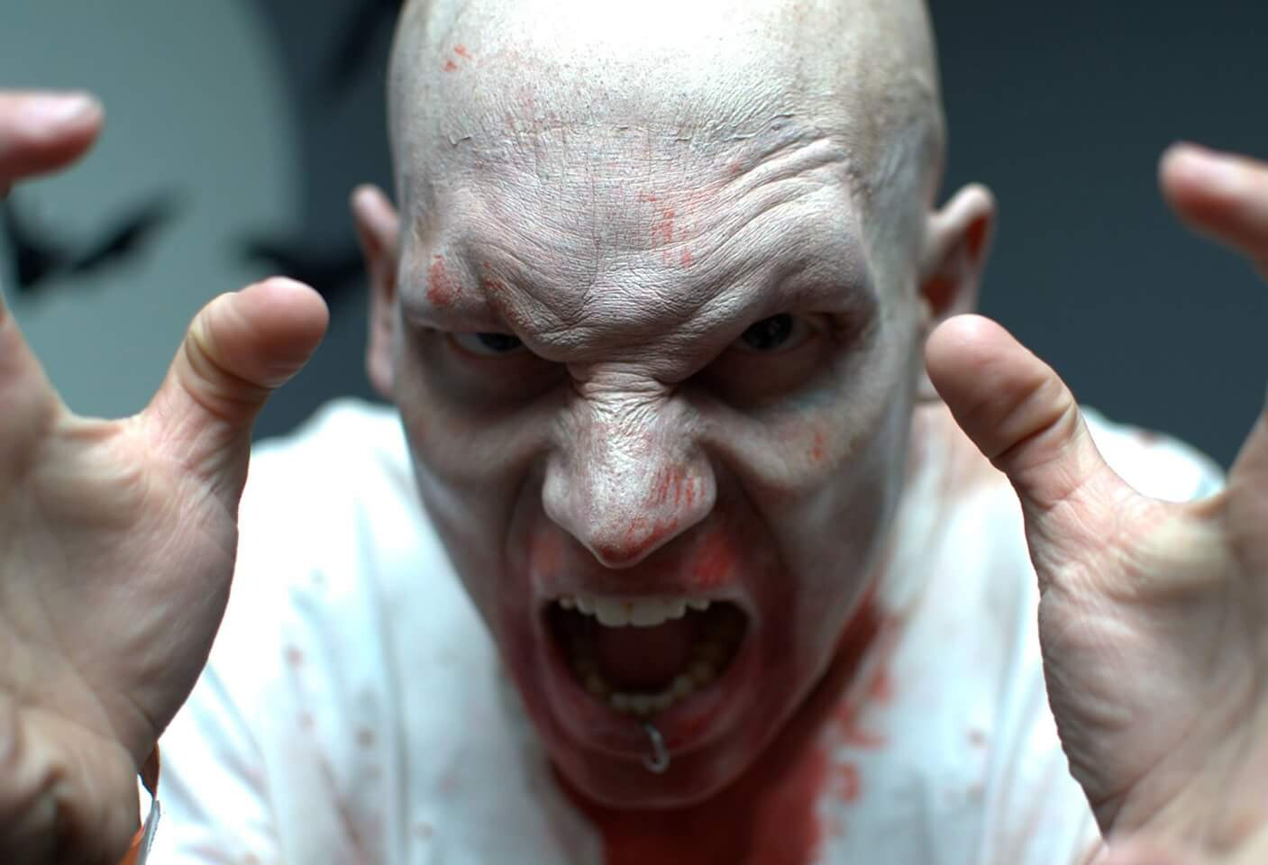 Demon Prosthetic Make-ups