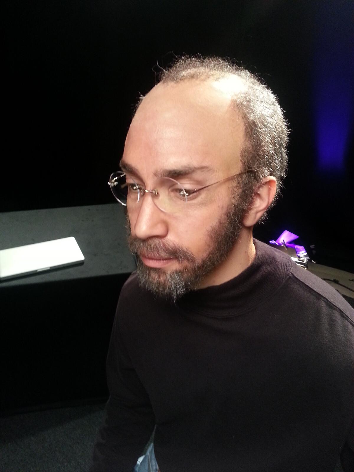 Steve Jobs Make-up Justin Long, FOD