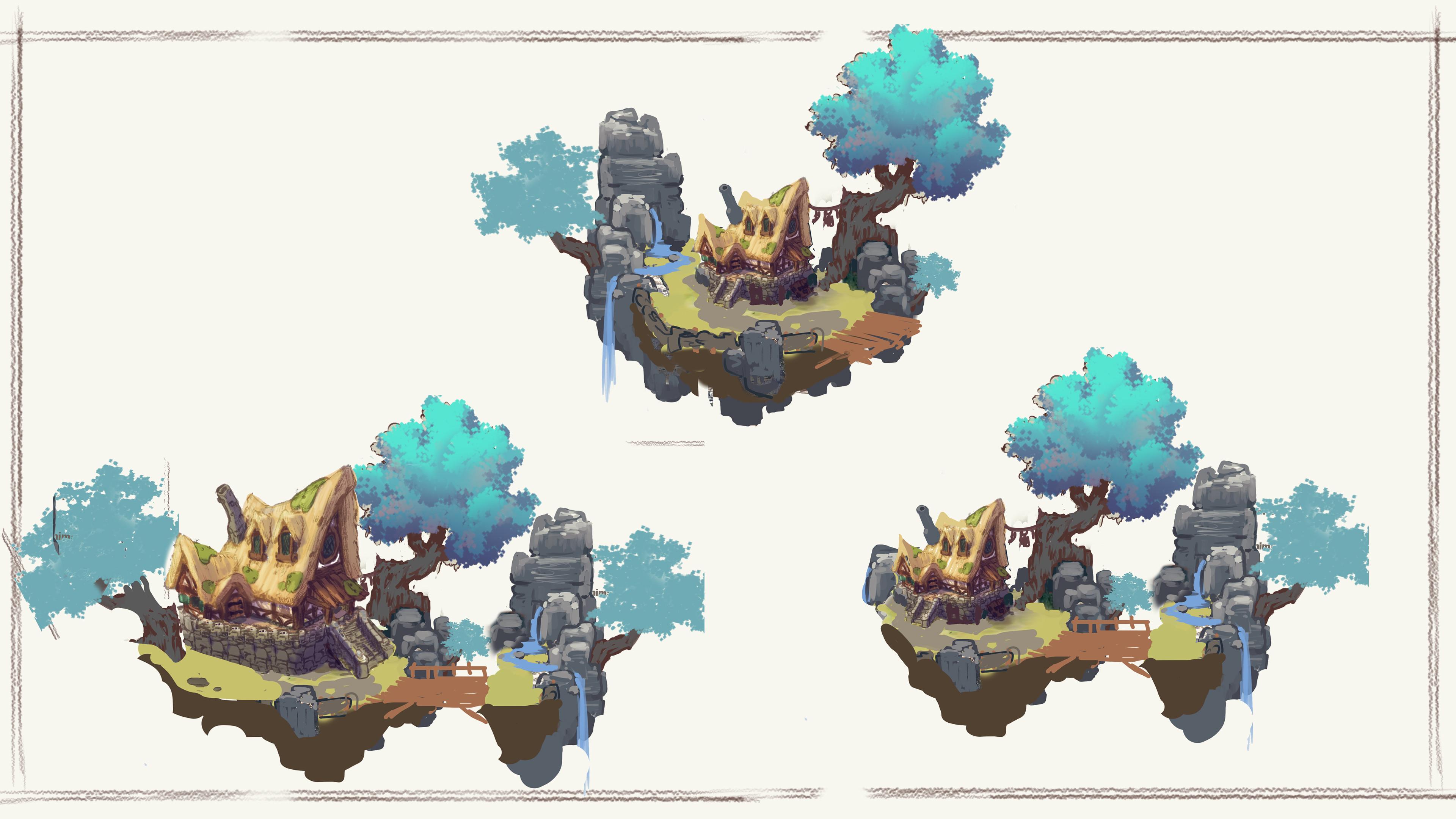 Exploration with different Islands setups