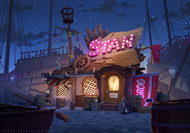 Stan's Cabin - Monkey Island