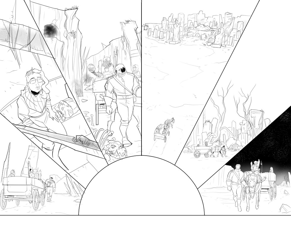 Engineward #3, pages 14-15