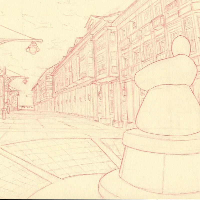 Palencia sketches