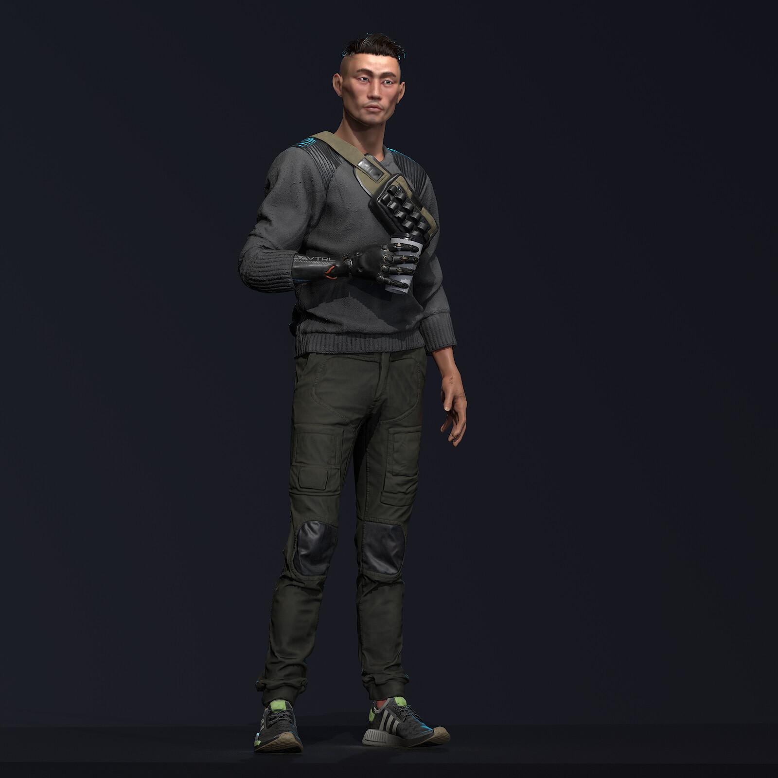 Cyberpunk Dude